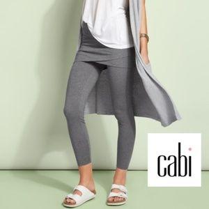 Cabi M'Leggings Gray Skirt/Leggings 2 in 1